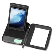 Houghton PU Leather A5 Zipped Tablet Holder
