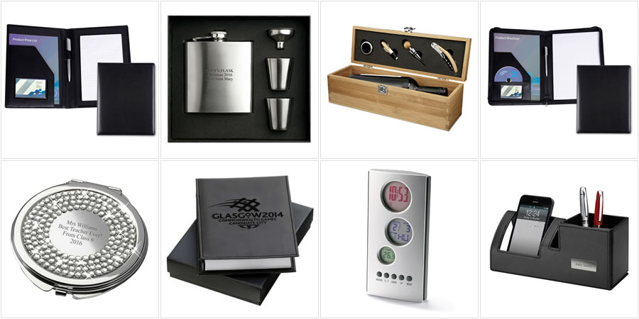 Eight best-selling corporate gift products, Christmas 2016