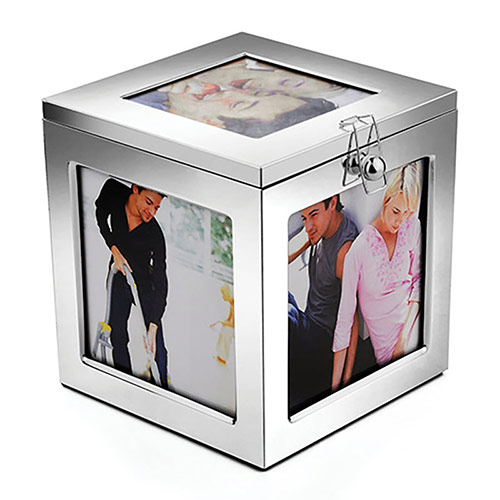 Silver Plated Photo Box