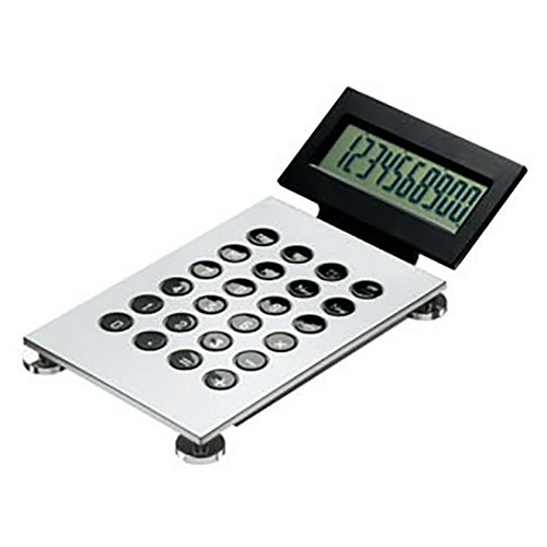 Hinged Display Desktop Calculator