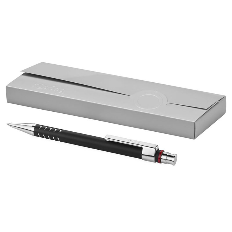 Rotring Dubai Ballpoint Pen in Solid Black