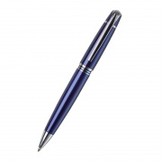 Promotional Blue Metal Ballpoint Pen