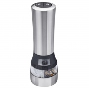 Stainless Steel 2-in-1 Electric Salt and Pepper Mill