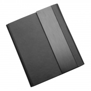 Small Conference Folder in Black PU Leather