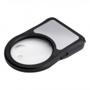 Magnifier with Torch and 1m Tape Measure