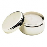 Silverplated Votive Candle Holder/Box