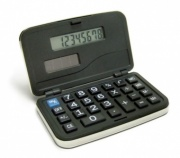 Silver Plated Folding Pocket Calculators