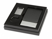 Business Gift Set with Business Card Case & Keyring
