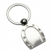 Promotional Keyring in Horseshoe Design