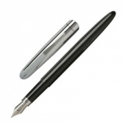 Black-Silver Designer Fountain Pen