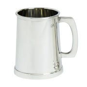 1PT Pewter Tankard in Charles II Style
