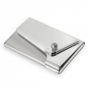 Silver Plated Golf Business Cards Case