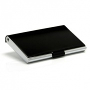 Black and Silver Business Cards Case