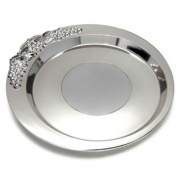 Silver Plated Bottle Coasters
