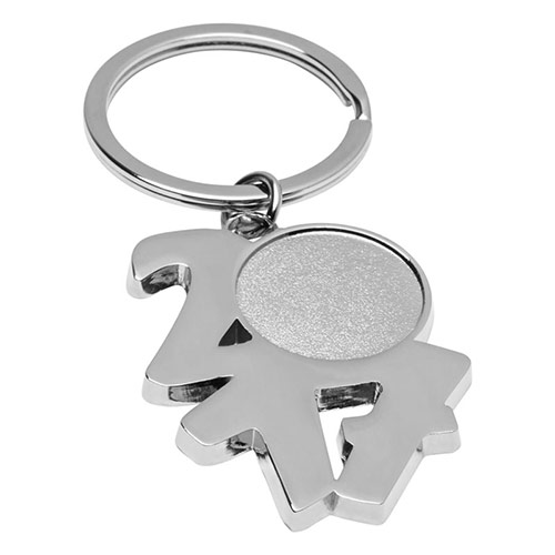 Promotional Metal 2017 Keyring