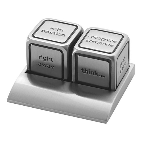 Engraved Decision Maker Dice