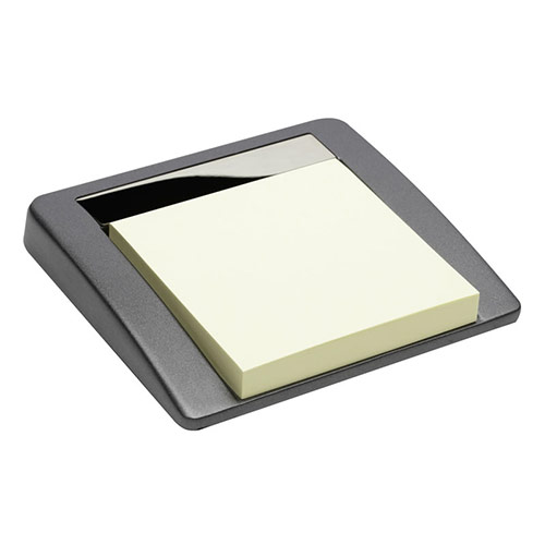 Promotional Mini Memo Pad Holder in Grey Finish