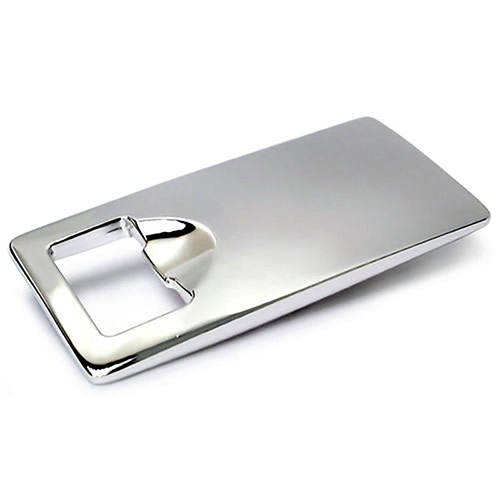 Silver Plated 'Square' Bottle Openers