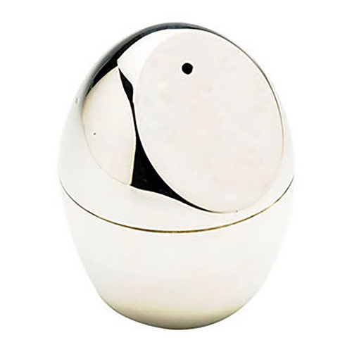 Egg Shaped Contemporary Salt and Pepper Shakers