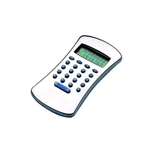 Silver Plated Euro Calculators