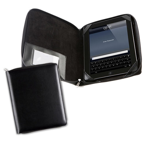 Belluno Leather Economy Zipped 10in Tablet Case