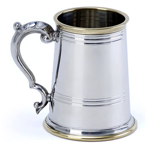 Brass and Pewter Tankards