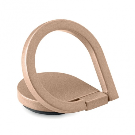 Phone Finger Grip Drop Ring Stand in Champagne Colour
