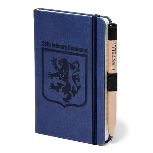 Castelli Small Leather Notebook