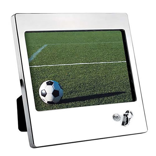 Silver Plated Football Photo Frame