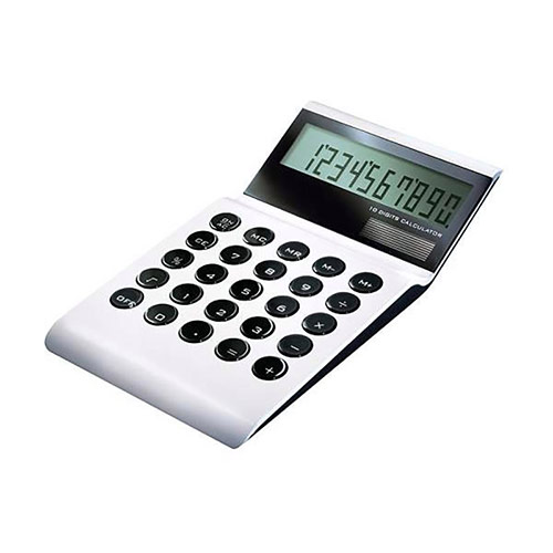 Aluminum Desktop Calculator
