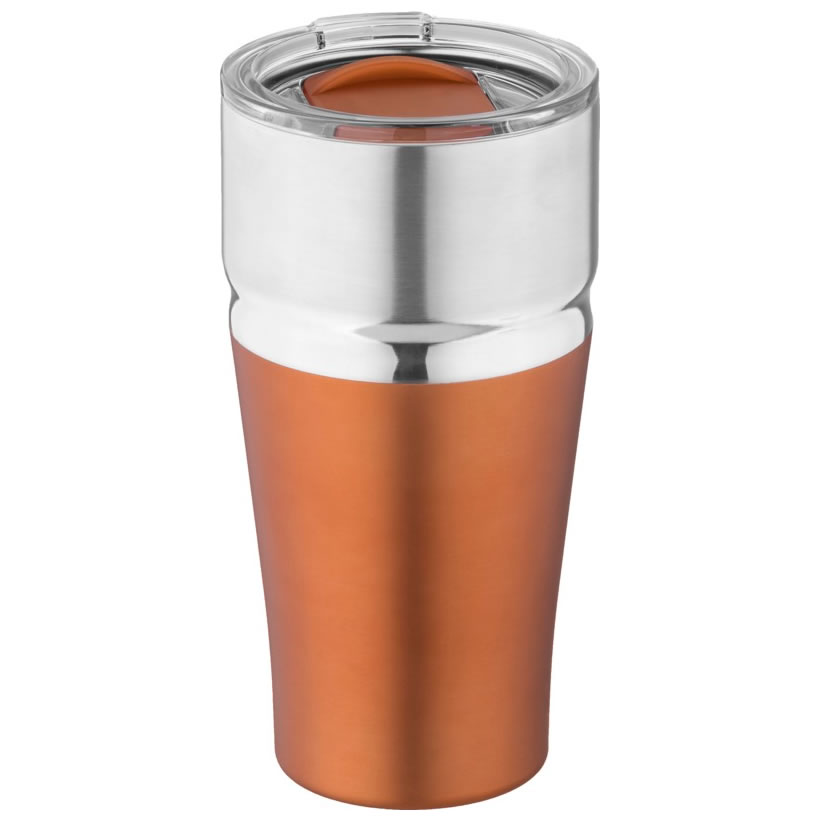 Copper & Stainless Steel 590ml Vacuum Travel Mug