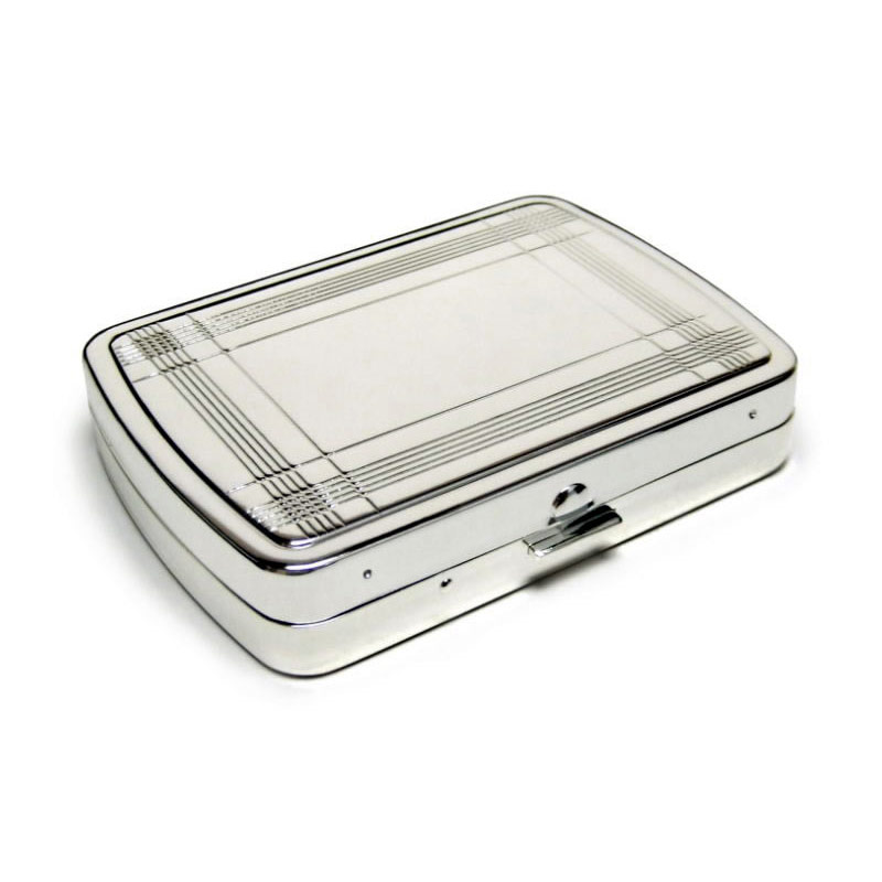 Silver Plated Travel Sewing Kits