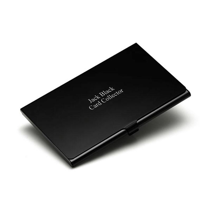 Black finish aluminum business card holder business gifts supplier black finish aluminum business card holder colourmoves