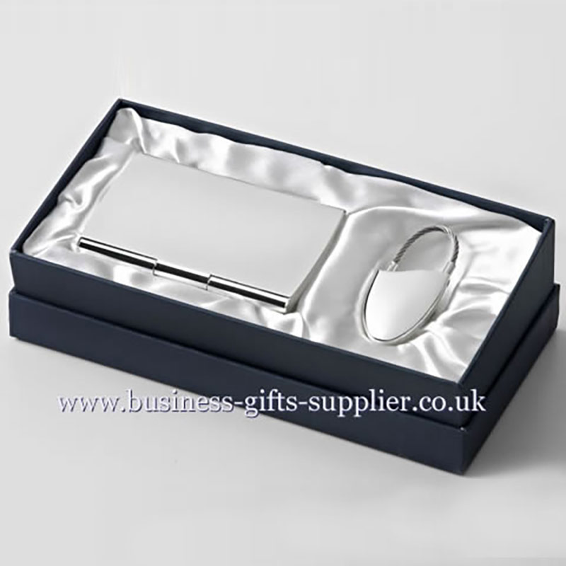 Gift Set with Keyring & Card Case