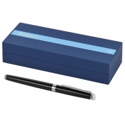 Waterman Hemisphere Fountain Pen in Black & Silver
