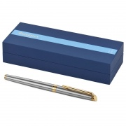 Waterman Hemisphere Rollerball Pen in Steel & Gold