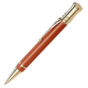 Parker Duofold Premium Ballpoint Pen in Red & Gold