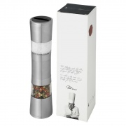 Stainless Steel Electric Dual Salt & Pepper Mill