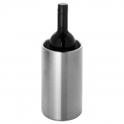 Brushed Stainless Steel Wine Bottle Cooler