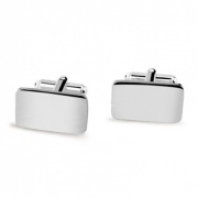Personalised Silver Plated 'Square' Cufflinks
