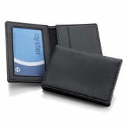 Leather ID / Travel Card Holder Wallet