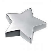 Silver Plated 'Star' Paperweight