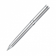 Chrome Plated Ballpoint Pen with Case