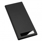 Business card holders from business gifts supplier business business cards organiser folder in black pu leather reheart Image collections