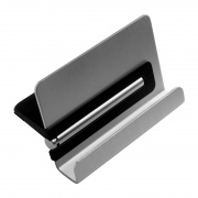 Black and Silver Mobile Phone Stand with Touchpen