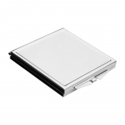 Promotional Pocket Mirror in Square Shape Metal Case