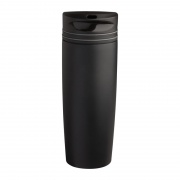 Promotional Black Stainless Steel Vacuum Travel Mug