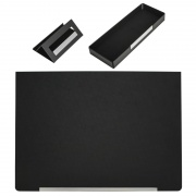 Promotional Three Piece PU Leather Desktop Set