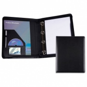 Belluno Leather A4 Zip Round Ring Binder