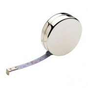 Silver Plated 'Rondo' Tape Measure